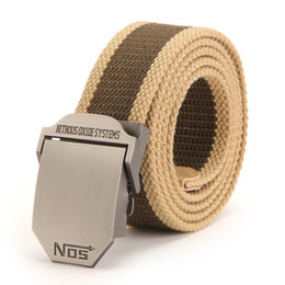 Wholesale brand new men belt thick canvas belt NOS jeans for men and women leisure joker canvas belt pieces free shopping