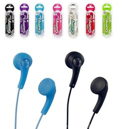Colourful 3.5mm Headphones Earphones Gumy HA F150 HA-F150 earphone with retail package For iphone 4 5 5s 5c ipad Samsung Galaxy note 3 S5