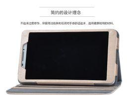 For Lenovo PHAB 6.98 PB1-750 PB1-750M PB1-750N Phone Tablet PC Custmoized Luxury Flip Book Cover Back Case Free Protector Film Stylus