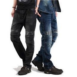Wholesale Motorcycle Hockey Pants Autumn And Winter Outdoor Motorcycle Racing Jeans Men s Wear Resistant Damping Riding Pants Sell Like Hot Cakes