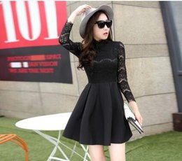 2015 the newest autumn and winter dress top fashion dress bud silk long sleeve dress top fashion Korean style film star dress