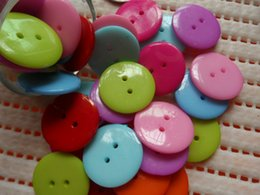 HOUS Mixed color Plastic Button Children's clothing buttons and DIY Crafts 100pcs Free shipping