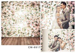 6.5*10FT(200x300CM)Wedding Backgrounds Photography Backdrops Romantic Fonds Fotografia Vinyl Backdrops For Photographic Backdrops cm-6917