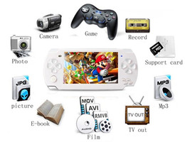 Wholesale Christmas gift quot TFT LCD Game Console With GB MP5 Player Built in Games Voice Recorder Camera TV Out Handheld Game Player