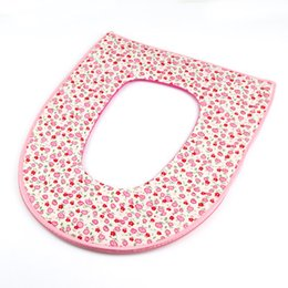 Wholesale High Quality Creative Zippered U shaped Toilet Seat Covers Toilet Cloth Cover Soft Toilet Mat Warm Cushion Fall and Winter