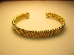 Wholesale Magnetic Mens Women Copper Bracelet Bangle Helps Arthritis Pain Relief flat B09