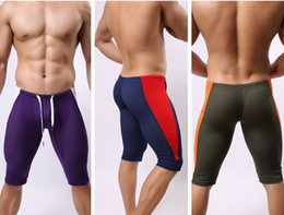 Wholesale Sport Quick drying Mesh Bulge quick dry breathe freely thermo warm trousers running jogging breeches gym cycling sport fitness half pants