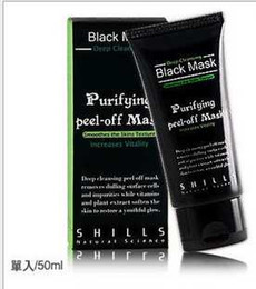 Wholesale 50pcs DHL Free SHILLS Deep Cleansing Black MASK ML Blackhead Facial Mask