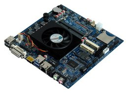 Wholesale M433 ITX HCMT3X21A AMD Kabini Embedded Motherboard COM SATA GPIO Mini PCIE SD Slot V DC powersupply DDR3