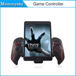 Pc joystick en Línea-Caliente BTC-938 juego de la radio del controlador telescópica Joystick Gamepad para Android Tablet PC TV Box Smartphone D3461A por DHL 010210