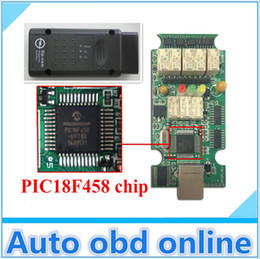 Wholesale with PIC18F458 chip FreeShipping Opcom V1 with software V120309A opel Op com OBD2 Op com with USB cable for opel opcom