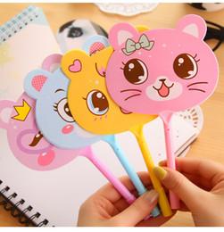 Wholesale Children gift ideas cute cartoon fan ballpoint Korea stationery pupils prizes