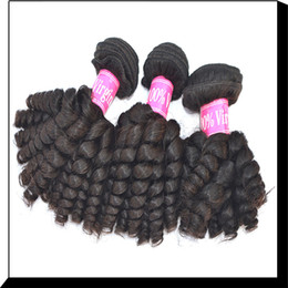 Wholesale A Brazilian Remy Bady Curly Hair Extensions Manufacture New Products inch to inch Bundles Real Virgin Human Hair Weave