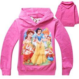 Kids Cartoon Hoodie Girls Snow White Hoodie Children Kids Outerwear Snow White Sophia Sofia Hoodie 4pcs lot free shipping