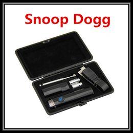 Métal cas ecig en Ligne-Snoop Dogg SD G17 Wax Vaporisateur Pen 350mAh Micro E-Cigarette Pro Case Voyage Kit Dry Herb Ecig Portable Elips Flat Snoop Dogg G