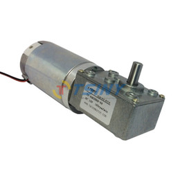 Wholesale DC V rpm High Torque Worm Reducer geared motor electric motor with reduction gearbox A2