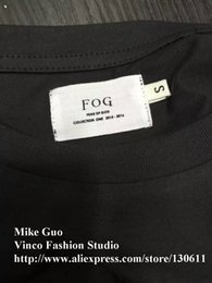 Wholesale summer Fear of God FOG yeezus RSVP Gallery Resurrected collection Pop up Shop justin bieber rock Tee tshirt