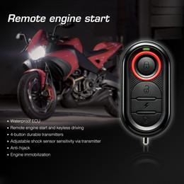Wholesale 100 Original Steelmate E Way Motorcycle Alarm Alarme Moto Alarma Moto Remote Engine Start Stop Moto Protection for BULTACO K2799