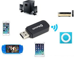 Wholesale 2564 USB Bluetooth Audio Adapter Bluetooth Music Receiver mm Stereo for Home Speakers PC cellphone