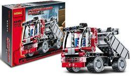 Wholesale Technic Transport Container Truck Car Original Decool Building Blocks Sets Model Toys For Children Bricks