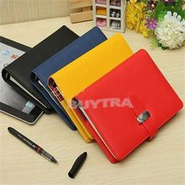 Wholesale 2014 New Vintage Leather Journal Notebook Retro Craft Pape Spiral Diary Journals Book Custom Stationery