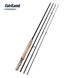 Fairiland 4sec 9ft 2.7M 5 6# Fly Fishing Rod 115g 4oz Carbon Saltwater Freshwater Fly Rod Fishing Pole w  Stainless Steel Guide
