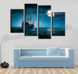 Wholesale Cheap Paintings Modern Home Decor Canvas Art Painting 4 Piece Wall Art Picture for Living Room Decoration