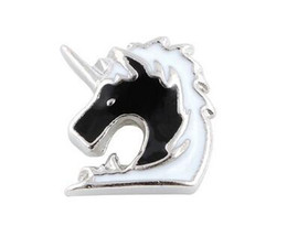 20PCS lot Horse Head DIY Alloy Floating Locket Charms Fit For Glass Living Magnetic Memory Locket Fashion Jewelrys