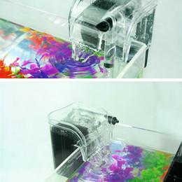 Wholesale New Arrive External Oxygen Pump Waterfall Filter for Fish Turtle Tank Aquarium V Aquariums Accessories