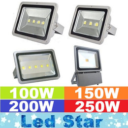 Wholesale Warranty Year W W W W Led Floodlights Landscape Lighting Waterproof Led Outdoor Flood Lights Wall Lamp AC V m Cable