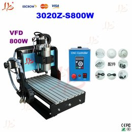 Wholesale W CNC Z S Engraving Drilling and Milling Machine with VFD Water cooling