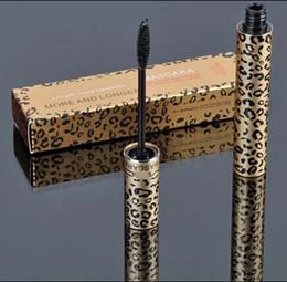 1pcs new hot sale makeup Leopard LASH Mascara black 10ML free shipping