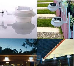Wholesale Good quality Hot sale New Style LED Bright LED Solar Garden Lamp Solar Gutter Fence Light Solar Lamp