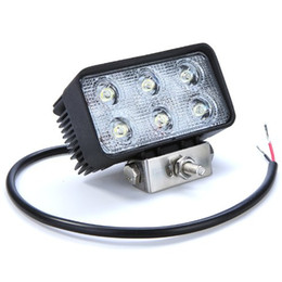 2pcs 4.3INCH 18W 12V LED WORK LIGHT SPOT FLOOD FOG LAMP FOR OFFROAD BOAT TRUCK ATV 4x4 LED DRIVING LIGHTS