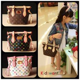 Wholesale Kids Tote Bag Stylish Child Handbag Designer Kid Girl Purses Shoulder bags Fashion Children Handbags Mini Baby BAG Christmas Gift