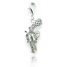 New Arrival! Fashion Exquisite Alloy Rhinestone Min Gun DIY Style Charms Pendant Jewelry Accessories