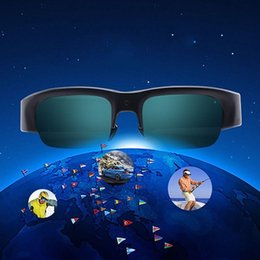 Wholesale 2 Mega pixel high Resolution sunglasses Camera MP3 Background Operation support SIM card with Bluetooth High Fidelity Stereo Output
