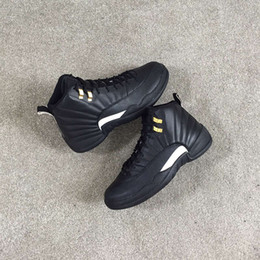 12 the master best material best package best zoom cushion black sneakers from Michael Sports only Original Factory Quality Version