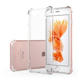 Shockproof Transparent Case for iPhone X 8 7 6 6S Plus Soft Gel TPU Case Clear Back Cover for Samsung S8 S8Plus