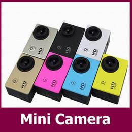 Mini grabador de vídeo resistente al agua en Línea-Precio ritmo Mini cámara Full HD 1080p acción grabador de vídeo 5MP COMS cámara resistente al agua sj5000 Sport Mini DV videocámara del coche DVR 20pcs / lot