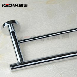 Cody shower hardware accessories manufacturers copper double towel bar high standard plating A002S