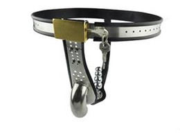 Man pant Stainless Steel Male Underwear Chastity For Party sex toy +vibrator+anal toy
