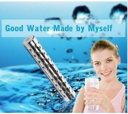 Wholesale Health Care Natural Diet Ion Alkaline Hydrogen Drink Water Stick Nano Antioxidant Tube Energy Quantum Alkaline ORP Balance Water Ionizer