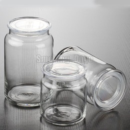 Wholesale Smoking Dogo High Quality Moistureproof Clear Glass Jar for Dry Herb and Tobacco Storage Container ML ML