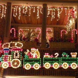 Rgb led net à vendre-Nouvelle année en gros-3.5x0.6M Guirlande LED Net lumières de Noël de Noël en plein air mariage de lumière Fairy Curtain Parti Lampe luces de Navidad Y1