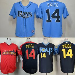 Wholesale Tampa Bay Rays David Price Jersey White Dark Baby Blue Cool Stitched Baseball Jerseys Embroidery Logo size S XL