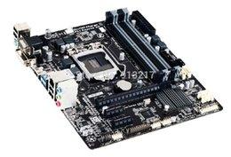 Wholesale B85 GA B85M DS3H Motherboard HDMI DVI VGA RJ45 LPT COM LGA Micro ATX DHL EMS