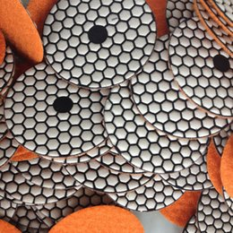 Wholesale Dry Polishing Pad inch Diamond Granite Marble Sanding Pad Polishing Disc Flooring Diamond Tools Abrasive Grinding Stone