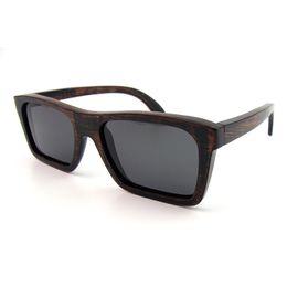 Wholesale 2016 Wholesales Nature Bamboo Wood Sunglasses TAC Polarized Lens Wood Sunglasses Vintage Eyeglasses Frames Bamboo Eyeglasses for Men Women C