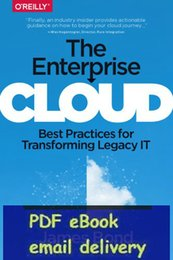 Wholesale The Enterprise Cloud Best Practices for Transforming Legacy IT by James Bond